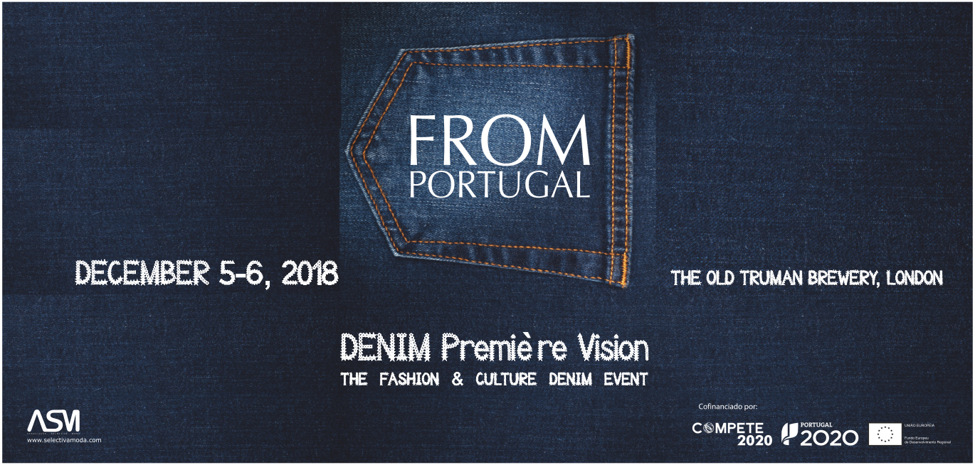PORTUGUESE DENIM FASHION  AT DISPLAY IN LONDON