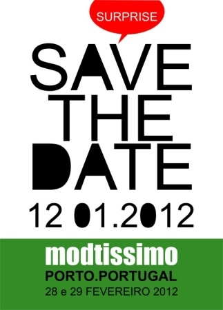 SAVE THE DATE - 12.01.2012